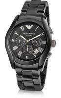 Emporio Armani Mens Ceramic Chrono Watch - Lyst