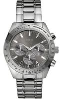 Guess Guess Chase Stainless Steel Chronograph Watch - Lyst