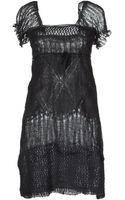 Ermanno Scervino Short Dresses - Lyst