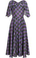 Roksanda Ilincic Elwood Printed Silk Dress - Lyst