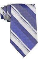 Calvin Klein Silk Striped Tie - Lyst