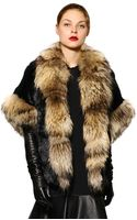 Jo No Fui Murmansky and Lapin Fur Coat - Lyst