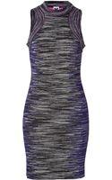 M Missoni Lurex Variegated Knit Sleeveless Dress - Lyst
