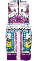 Mary Katrantzou Appaloosa Strapless Puff Dress - Lyst