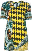 Balmain Printed Tshirt - Lyst