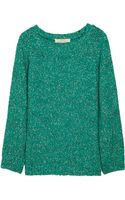 Vanessa Bruno Athé Chunky knit Cotton blend Sweater - Lyst