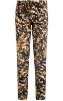 Erdem Esmeralda Narcisse Flower Print Trousers - Lyst