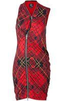 McQ by Alexander McQueen Tartan Print Dress - Lyst