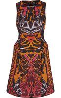 McQ by Alexander McQueen Kaleidoscope Print Dress - Lyst