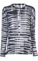 Proenza Schouler Tie-dye T-shirt - Lyst