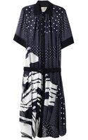 Preen By Thorton Bregazzi Fallonprint Georgette Dress - Lyst