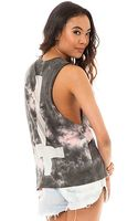 Obey The Here Comes Trouble Cross Burnout Muscle Tank - Lyst