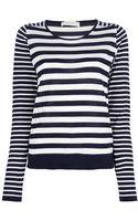 Mauro Grifoni Striped T-shirt - Lyst