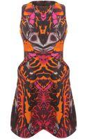 McQ by Alexander McQueen Kaleidoscope Beetle Party Dress - Lyst
