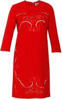 Preen By Thorton Bregazzi Ember Crepe Dress - Lyst