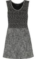Theory Cozma Cottonblend and Tweed Dress - Lyst