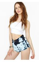 Nasty Gal Bleach Street Cutoff Shorts - Lyst