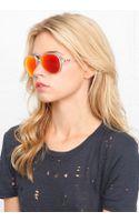 Ray-Ban Cats 59mm Matte Transparent Sunglasses - Lyst