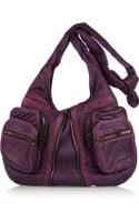 Alexander Wang Donna Washed Leather Shoulder Bag - Lyst