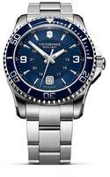 Victorinox Maverick Gs Bracelet Watch 43mm - Lyst