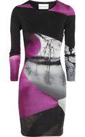 Mary Katrantzou Printed Silkjersey Dress - Lyst