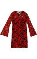 Diane Von Furstenberg Gadie Lace Dress - Lyst