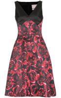 Jason Wu Print Satin Dress - Lyst