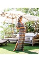 Vix Tanzania Luana Long Dress - Lyst