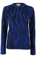 Michael Kors Cashmere Ikat Pullover - Lyst