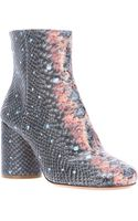 Maison Martin Margiela Fish Ankle Boot - Lyst