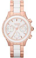 DKNY Essentials Stainless Steel Ladies Watch - Lyst