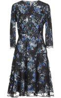 Erdem Kneelength Dress - Lyst
