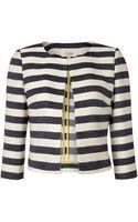 Linea Weekend Ladies Striped Boxy Jacket - Lyst