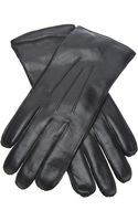 Ann Demeulemeester Brushed Leather Gloves - Lyst