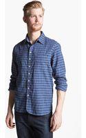 Rag & Bone Plaid Woven Shirt - Lyst