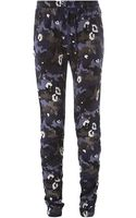 3.1 Phillip Lim Camouflage Print Track Pants - Lyst