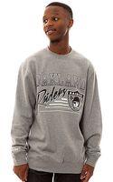 Mitchell & Ness The Oakland Raiders Crewneck Sweatshirt - Lyst