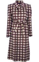 Sartoria Italiana Vintage Checked Coat - Lyst