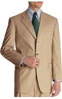 Brooks Brothers Brookscool Madison Fit Threebutton Poplin Suit - Lyst