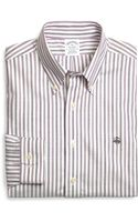 Brooks Brothers Supima Cotton Noniron Slim Fit Alternating Stripe Sport Shirt - Lyst