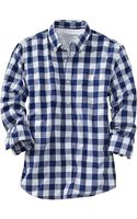 Old Navy Everyday Classic Slimfit Shirts - Lyst