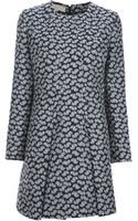 Stella McCartney Embroidered Floral Dress - Lyst