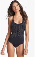 Nanette Lepore Zahia One Piece Swimsuit - Lyst