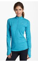 Nike Element Half Zip Top - Lyst