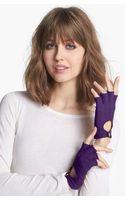 Lauren by Ralph Lauren Fingerless Driving Gloves - Lyst