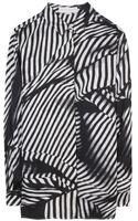 Stella McCartney Anya Print Silk Shirt - Lyst
