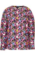 Topshop Sweet Print Sweat - Lyst