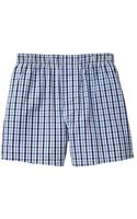 Gap Mini Checkered Boxers - Lyst
