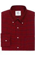 Brooks Brothers Gingham Oxford Buttondown Shirt - Lyst