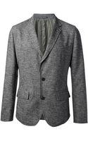 Dolce & Gabbana Buttoned Blazer - Lyst